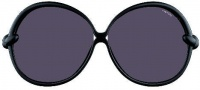 Tom Ford FT0164 Nicole Sunglasses Sunglasses - O01A Shiny Black