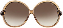 Tom Ford FT0164 Nicole Sunglasses Sunglasses - O39F Shiny Champagne