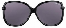 Tom Ford FT0165 Callae Sunglasses Sunglasses - O01A Shiny Black Gradient