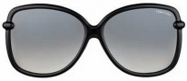 Tom Ford FT0165 Callae Sunglasses Sunglasses - O01B Shiny Black