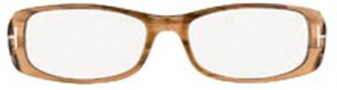Tom Ford FT5121 Eyeglasses Eyeglasses - O045 Brown Honey