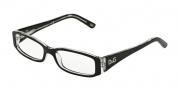 D&G DD1179 Eyeglasses Eyeglasses - 675 Black Top on Clear