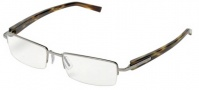 Tag Heuer Trends 8203 Eyeglasses Eyeglasses - 002 Ruthenium Yellow Tortoise