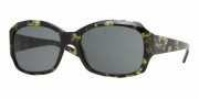 DKNY DY4048 Sunglasses Sunglasses - (3733/6) Green Havana / Gray Green
