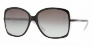 DKNY DY4058 Sunglasses Sunglasses - (336011) Black-Ice / Gray Gradient
