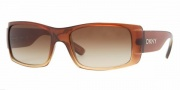 DKNY DY4064 Sunglasses Sunglasses - (343413) Brown Gradient Sable / Brown Gradient