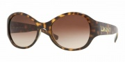 DKNY DY4068 Sunglasses Sunglasses - (329113) Havana / Brown Gradient