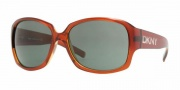 DKNY DY4069 Sunglasses Sunglasses - (337971) Red-Amber / Gray Green