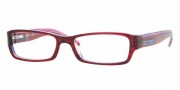 DKNY DY4587 Eyeglasses Eyeglasses - (3404) Striped Red-Transparent Blue