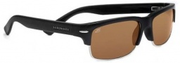 Serengeti Vasio Sunglasses Sunglasses - 7407 Shiny Black / Drivers