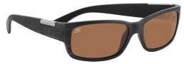 Serengeti Merano Sunglasses Sunglasses - 7242 Black Laser Etched / Drivers Lens