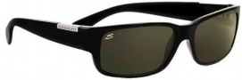 Serengeti Merano Sunglasses Sunglasses - 7239 Shiny Black / Polarized 555nm