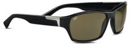 Serengeti Gio Sunglasses Sunglasses - 7244 Shiny Black / Polarized 555nm