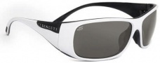 Serengeti Larino Sunglasses Sunglasses - 7393 Shiny White-Black / Polar PhD CPG