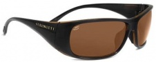 Serengeti Larino Sunglasses Sunglasses - 7392 Crystal Brown-Black / Polar PhD Drivers