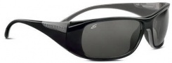 Serengeti Larino Sunglasses Sunglasses - 7390 Shiny Black-Gray / Polar PhD Drivers