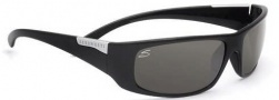 Serengeti Fasano Sunglasses Sunglasses - 7394 Shiny Black / Polar PhD CPG