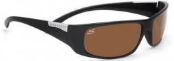 Serengeti Fasano Sunglasses Sunglasses - 7395 Shiny Black / Polar PhD Drivers