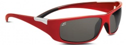 Serengeti Fasano Sunglasses Sunglasses - 7397 Red / Polar PhD CPG