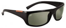 Serengeti Cetera Sunglasses Sunglasses - 7338 Shiny Black / Polar PhD CPG