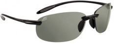 Serengeti Nuvino Sunglasses Sunglasses - 7318 Shiny Black / Polar PhD CPG