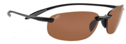 Serengeti Nuvino Sunglasses Sunglasses - 7317 Shiny Black / Polar PhD Drivers