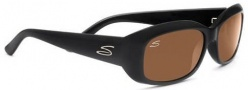 Serengeti Bianca Sunglasses Sunglasses - 7368 Shiny Black / Polarized Drivers
