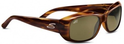 Serengeti Bianca Sunglasses Sunglasses - 7366 Dark Stripe Tortoise / Polarized 555nm