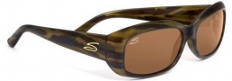 Serengeti Bianca Sunglasses Sunglasses - 7365 Dark Stripe Tortoise / Drivers