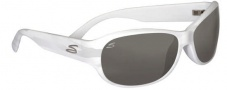 Serengeti Giada Sunglasses Sunglasses - 7403 Pearl White / Polarized 555nm
