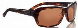 Serengeti Vittoria Sunglasses Sunglasses - 7258 Brown Tan Leopard Fade / Polarized Drivers