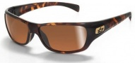 Bolle Crown Sunglasses Sunglasses - 11326 Dark Tortoise / Polarized Inland Gold