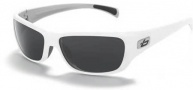 Bolle Crown Sunglasses Sunglasses - 11279 White-Silver / Polarized TNS
