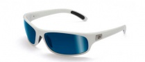 Bolle Anaconda Sunglasses Sunglasses - 11450 Shiny White / Polarized Offshore Blue