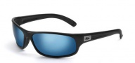 Bolle Anaconda Sunglasses Sunglasses - 11055 Shiny Black / Polarized Offshore blue