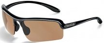 Bolle Vitesse Sunglasses Sunglasses - 11249 Shiny Black / EagleVison 2 Dark