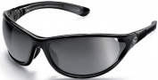 Bolle Traverse Sunglasses/Goggles Sunglasses - 10851 Shiny Black / TNS Gun + Lemon
