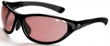 Bolle Traverse Sunglasses/Goggles Sunglasses - 10850 Shiny Black / Modulator Rose + Bolle 100 Gun