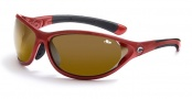 Bolle Traverse Sunglasses/Goggles Sunglasses - 10795 Red / Bolle 100 Gun