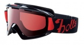 Bolle Nova Goggles Sunglasses - 20668 Shiny Black Modulator Vermillon