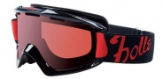 Bolle Nova Goggles Sunglasses - 20666 Shiny Black Vermillon