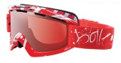 Bolle Nova Goggles Sunglasses - 20680 Red Graffiti Vermillon Gun