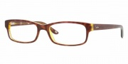 Ray-Ban RX 5187 Eyeglasses Eyeglasses - 2443 Havana-Blue-Yellow