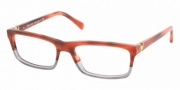 Prada PR 06NV Eyeglasses Eyeglasses - ZY81O1 Tortoise Bicoloured-Red
