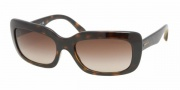 Prada PR23MS Sunglasses Sunglasses - 2AU6S1 Havana Brown / Gradient