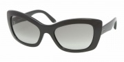 Prada PR 19MS Sunglasses Sunglasses - ABH1A1 Pink Fluo / Gray