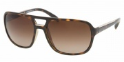Prada PR 25MS Sunglasses Sunglasses - 2AU6S1 Havana / Brown Gradient