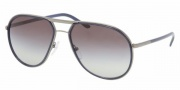 Prada PR 56MS Sunglasses Sunglasses - GDW3M1 Gunmetal / Gray Gradient