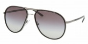 Prada PR 56MS Sunglasses Sunglasses - 5AV3M1 Gunmetal / Crystal Gray Gradient
