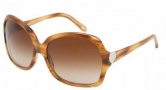 Tiffany & Co. TF4041 Sunglasses Sunglasses - 80463B Striped Brown / Brown Gradient